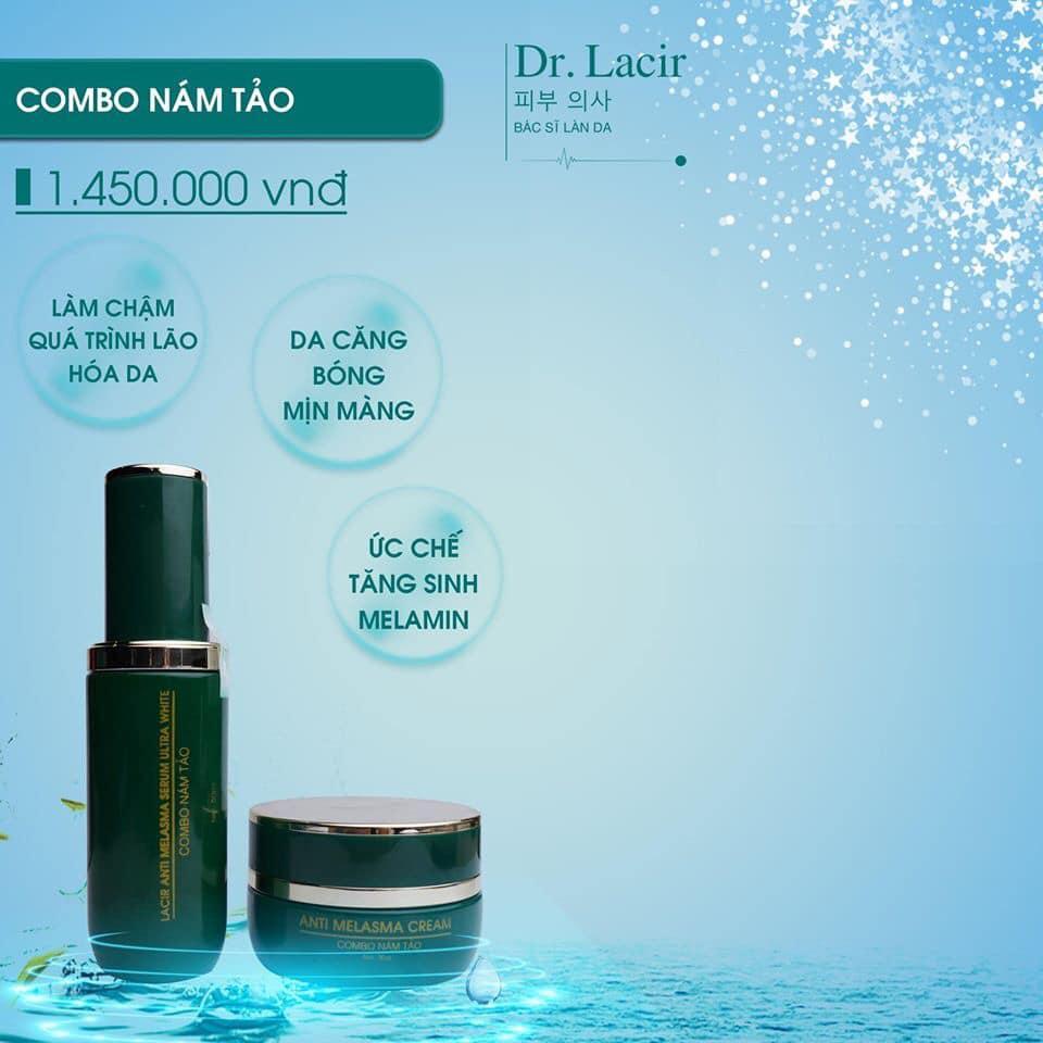 Combo nám tảo Lamer Dr Lacir