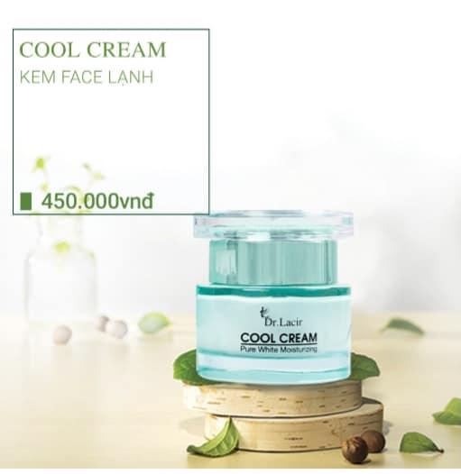 Kem dưỡng trắng da Cool Cream Lamer Dr Lacir